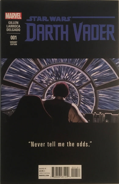STAR WARS DARTH VADER (2015-2016) # 1 CASSADAY TEASER 1:25 VARIANT COVER