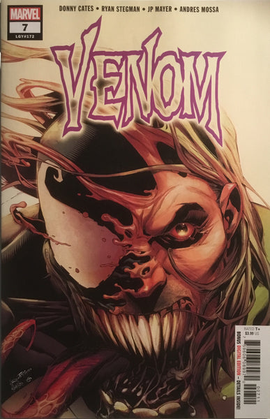 "VENOM (2018) # 7 ""TONGUE"" VARIANT FIRST PRINTING"