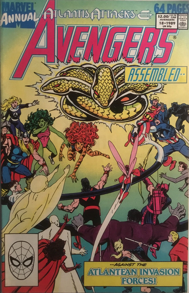 AVENGERS (1963-1996) ANNUAL # 18