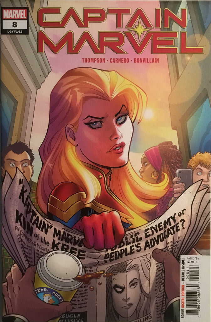 CAPTAIN MARVEL (2019) # 8 FIRST APPEARANCE OF STAR
