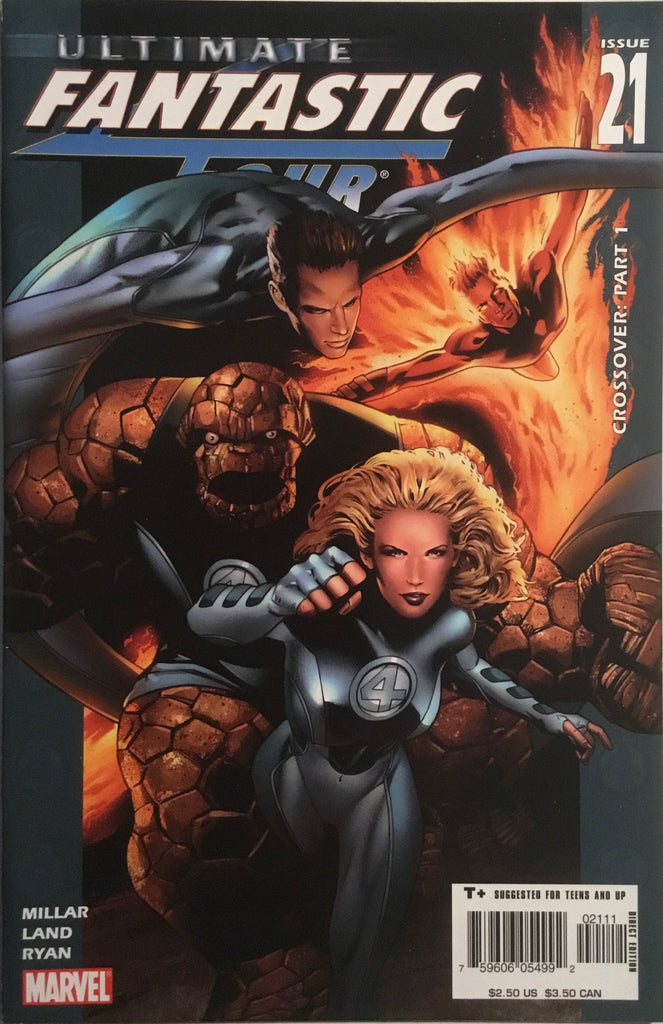 ULTIMATE FANTASTIC FOUR # 21, 22 & 23 FIRST APPEARANCES OF MARVEL ZOMBIES