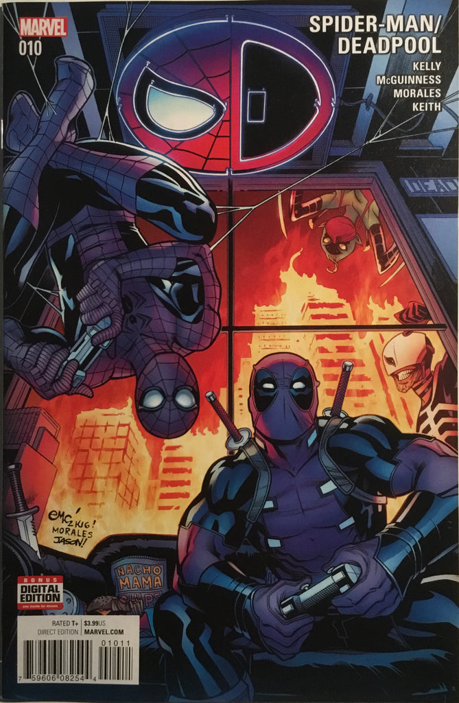 SPIDER-MAN / DEADPOOL #10