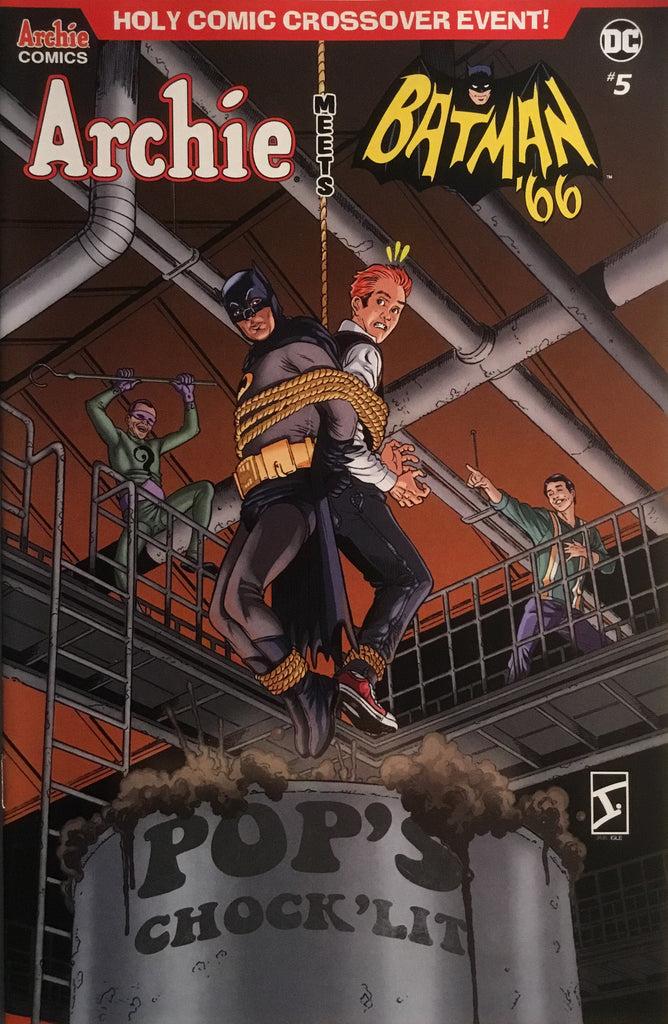 ARCHIE MEETS BATMAN '66 #5 IGLE COVER