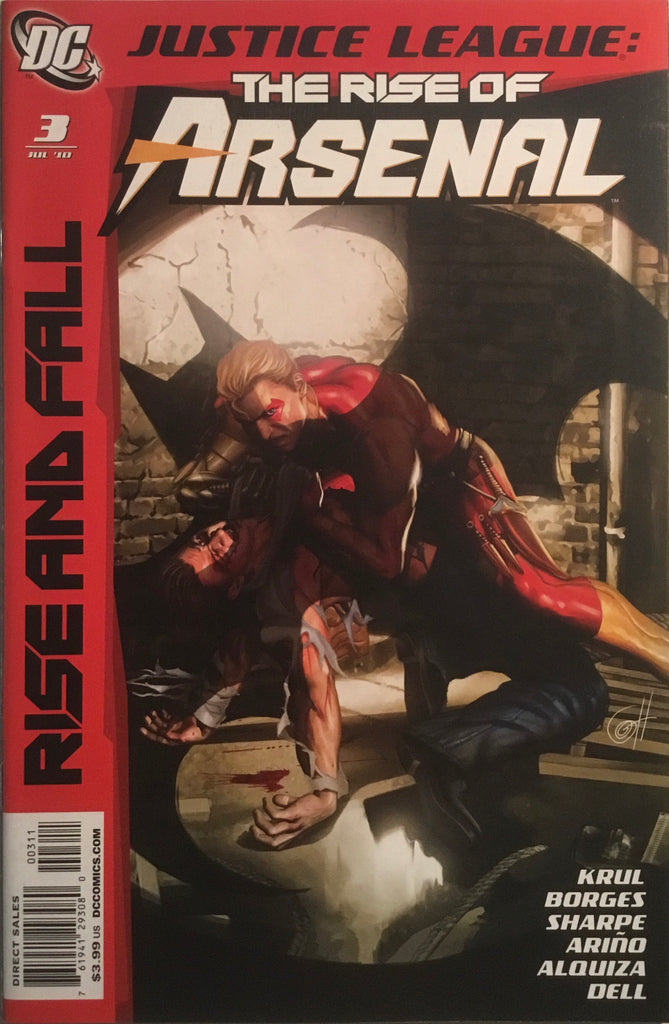JUSTICE LEAGUE THE RISE OF ARSENAL # 3