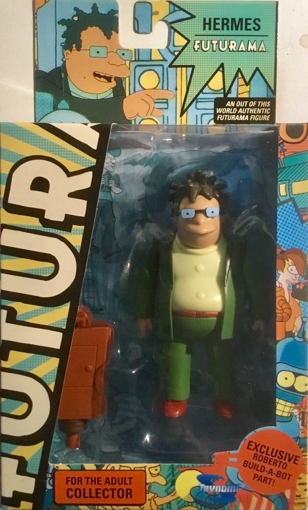 FUTURAMA HERMES ACTION FIGURE