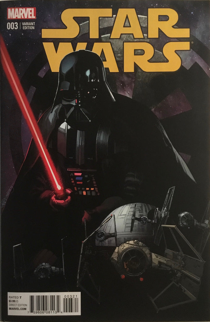 STAR WARS (2015-2020) # 3 YU 1:25 VARIANT COVER