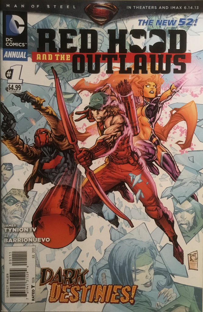 RED HOOD AND THE OUTLAWS (THE NEW 52) ANNUAL # 1
