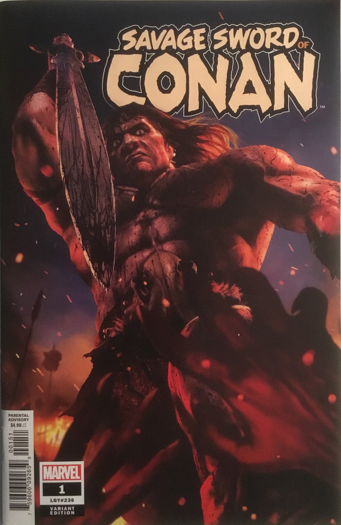 SAVAGE SWORD OF CONAN (2019) # 1 RAHZZAH 1:25 VARIANT COVER