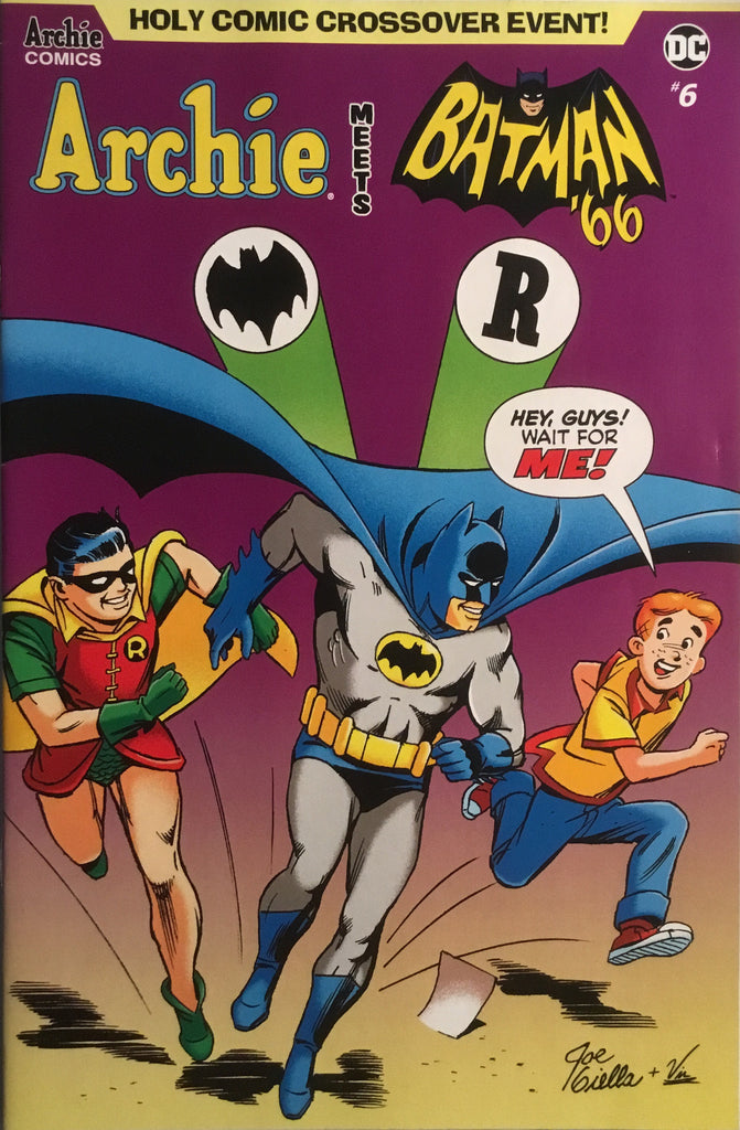 ARCHIE MEETS BATMAN '66 #6 GIELLA COVER