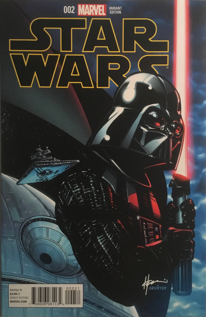 STAR WARS (2015-2020) # 2 CHAYKIN 1:25 VARIANT COVER