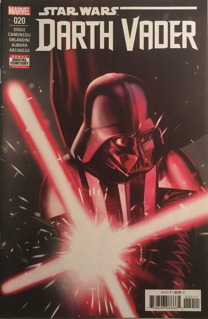 STAR WARS DARTH VADER (2017-2019) #20