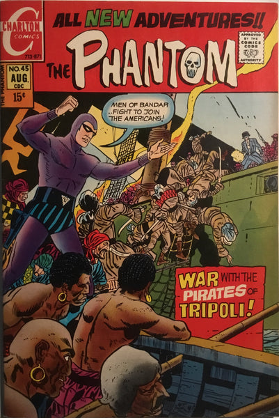 THE PHANTOM (CHARLTON) # 45