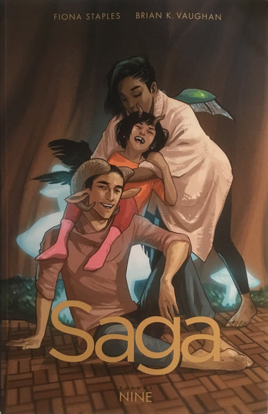 SAGA VOL 9 GRAPHIC NOVEL