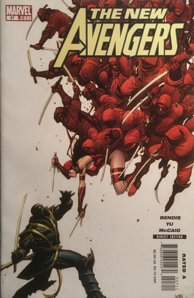 NEW AVENGERS (2005-2010) # 27 FIRST APPEARANCE OF HAWKEYE AS RONIN