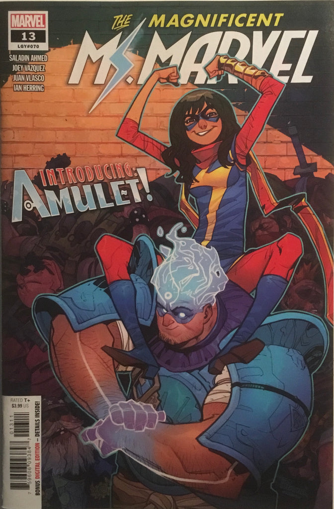 MAGNIFICENT MS MARVEL #13 FIRST APPEARANCE OF AMULET
