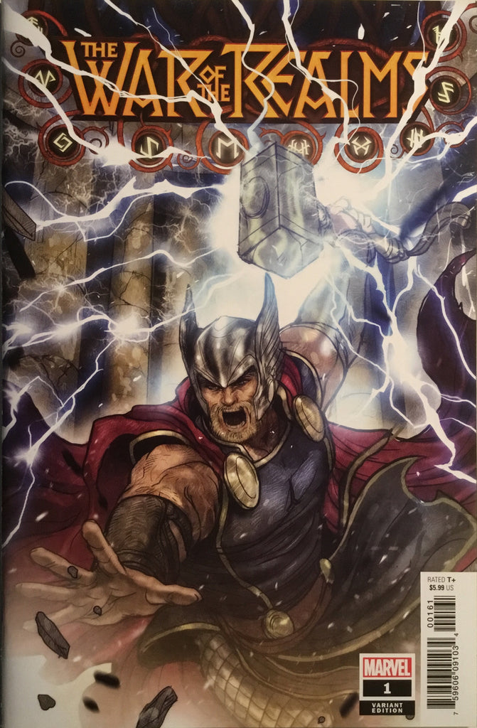 WAR OF THE REALMS # 1 TAKEDA 1:50 VARIANT COVER