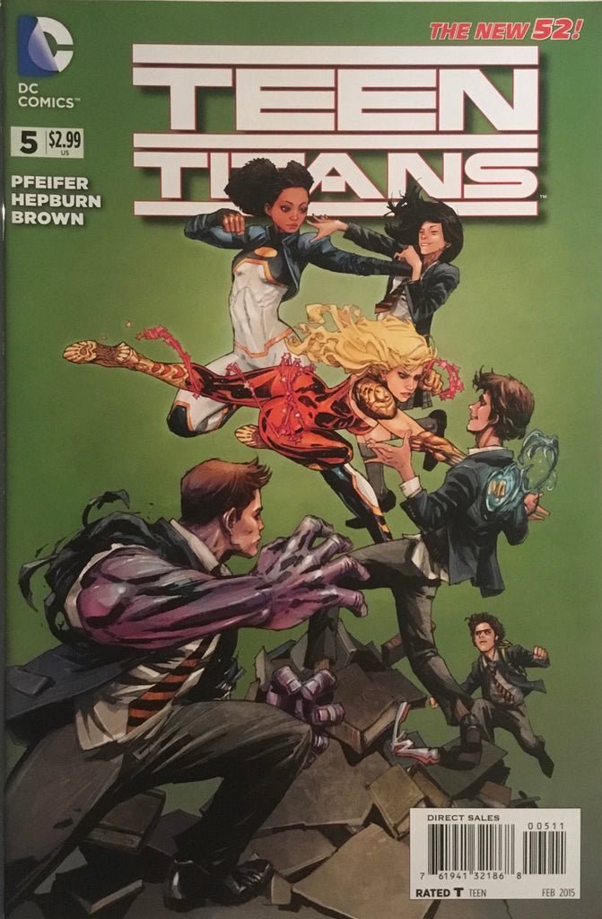 TEEN TITANS (NEW 52 SERIES 2) # 5