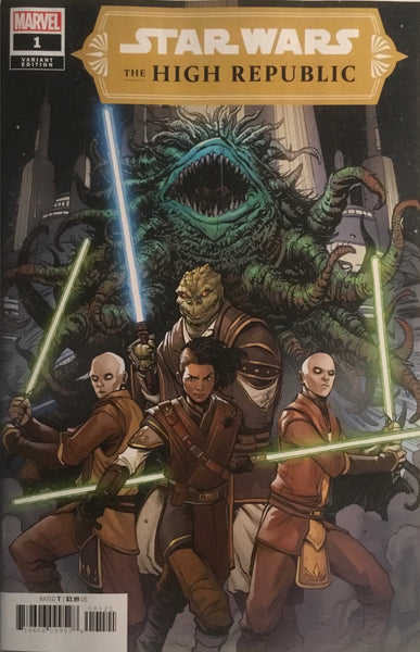 STAR WARS THE HIGH REPUBLIC # 1 VARIANT COVER FIRST APPEARANCE OF MULTIPLE NEW CHARACTERS