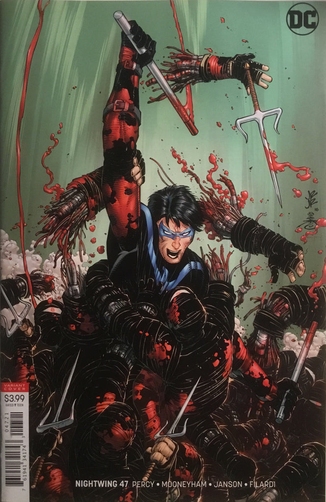 NIGHTWING (REBIRTH) # 47 VARIANT COVER