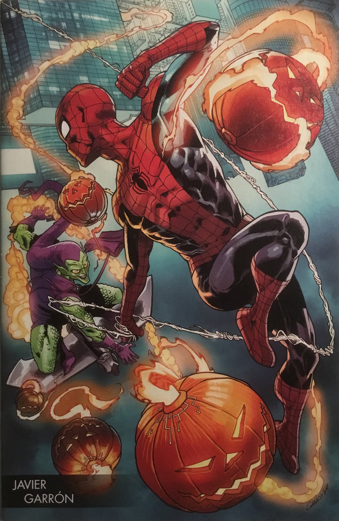 AMAZING SPIDER-MAN (2015-2018) # 798 GARRON COVER FIRST FULL APPEARANCE OF RED GOBLIN