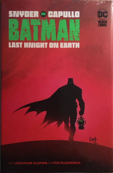 BATMAN LAST KNIGHT ON EARTH HARDCOVER GRAPHIC NOVEL