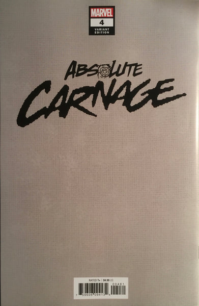 ABSOLUTE CARNAGE # 4 STEGMAN 1:100 VIRGIN COVER