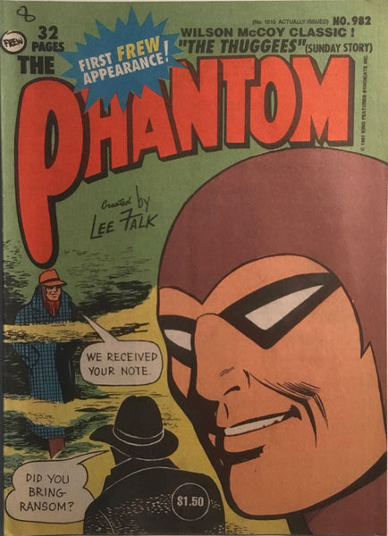 THE PHANTOM # 982
