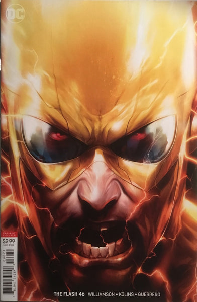 FLASH (REBIRTH) # 46 MATTINA VARIANT COVER