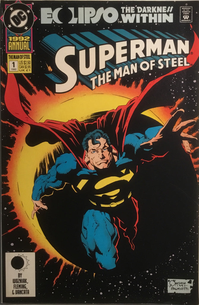 SUPERMAN THE MAN OF STEEL ANNUAL # 1