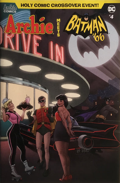 ARCHIE MEETS BATMAN '66 #4 QUINONES COVER