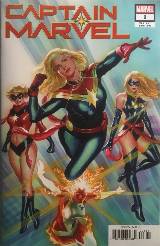 CAPTAIN MARVEL (2019) # 1 ALEX ROSS 1:50 VARIANT COVER