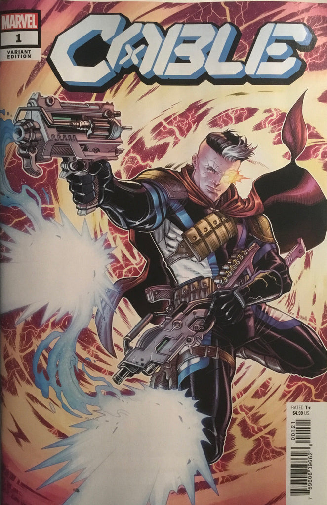 CABLE # 1 BRADSHAW 1:50 VARIANT COVER