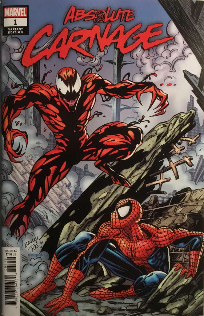 ABSOLUTE CARNAGE # 1 BAGLEY 1:100 VARIANT COVER