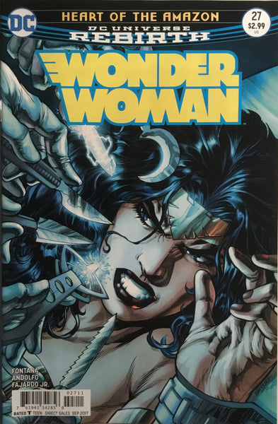 WONDER WOMAN (REBIRTH) #27