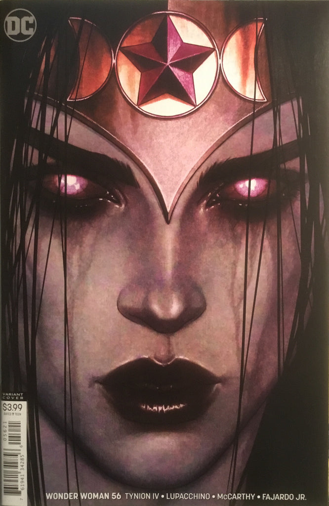 WONDER WOMAN (REBIRTH) # 56 FRISON VARIANT COVER