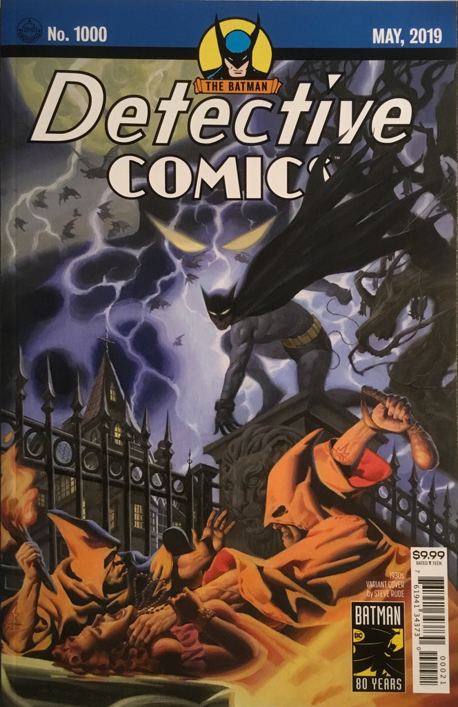 DETECTIVE COMICS #1000 RUDE 1930'S VARIANT COVER