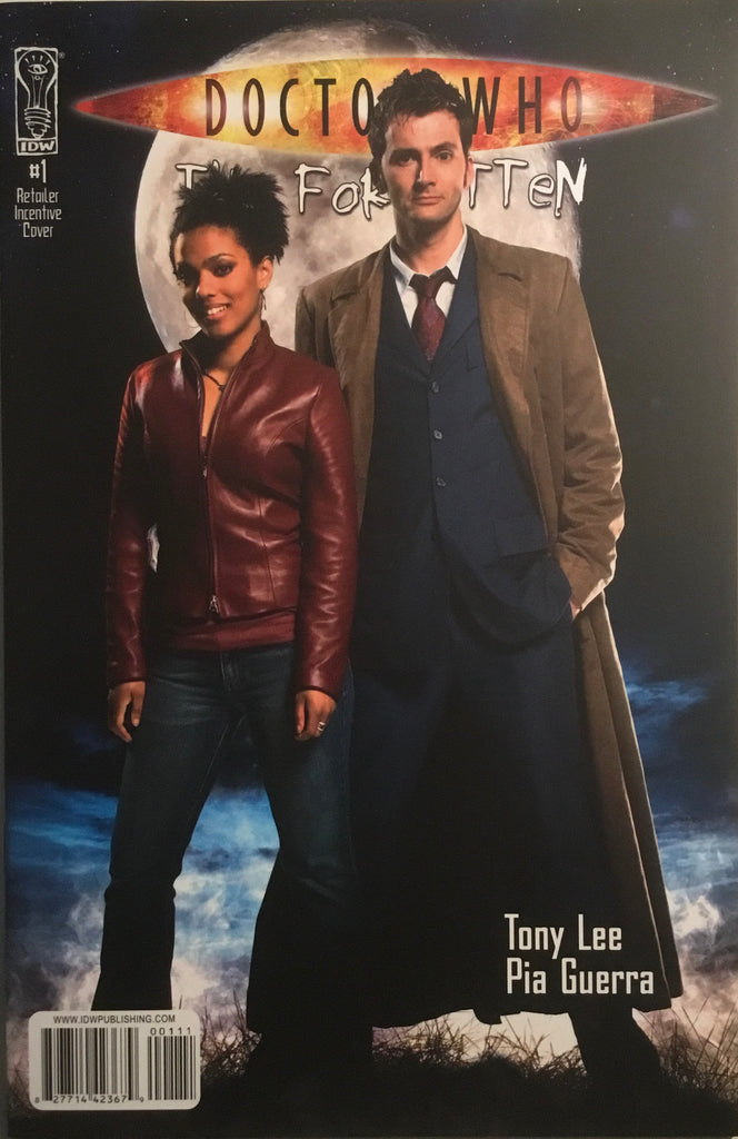DOCTOR WHO THE FORGOTTEN # 1 PHOTO COVER (1:10 VARIANT)