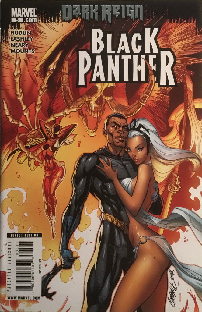 BLACK PANTHER (2009-2010) # 5 FIRST APPEARANCE OF SHURI AS BLACK PANTHER