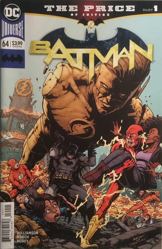 BATMAN (REBIRTH) # 64