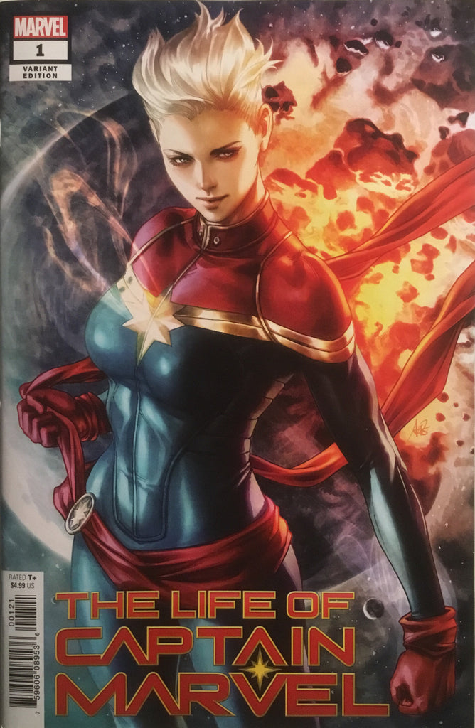 THE LIFE OF CAPTAIN MARVEL # 1 ARTGERM VARIANT COVER