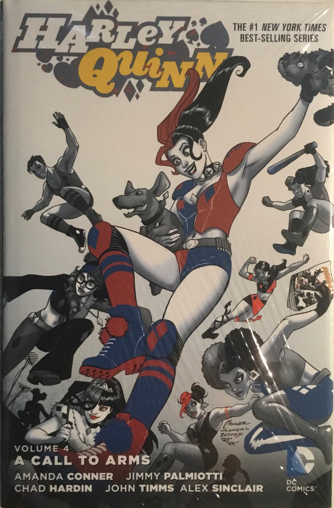 HARLEY QUINN VOL 4 A CALL TO ARMS HARDCOVER GRAPHIC NOVEL