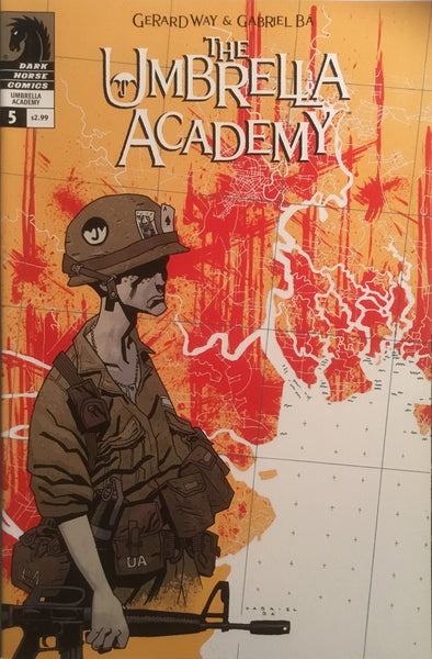 THE UMBRELLA ACADEMY SERIES 2 DALLAS  # 5