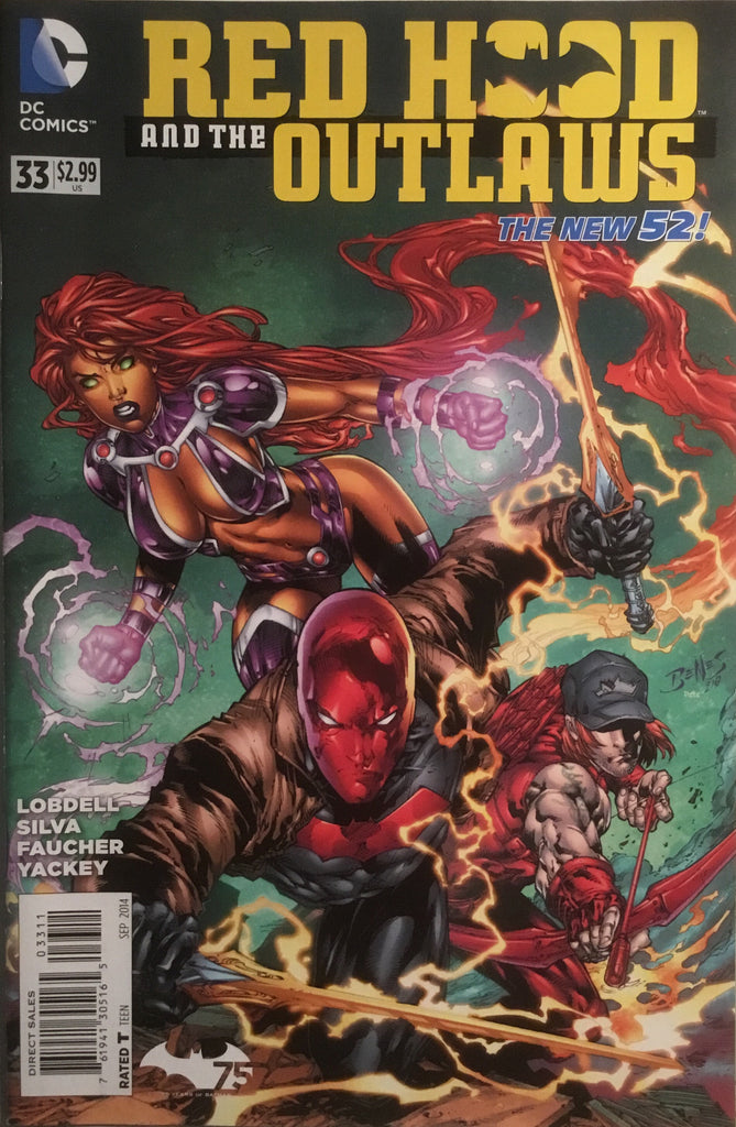 RED HOOD AND THE OUTLAWS (THE NEW 52) # 33