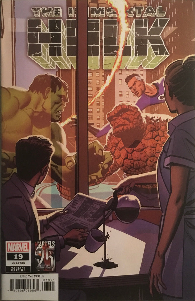 IMMORTAL HULK #19 MARVELS 25TH TRIBUTE VARIANT COVER