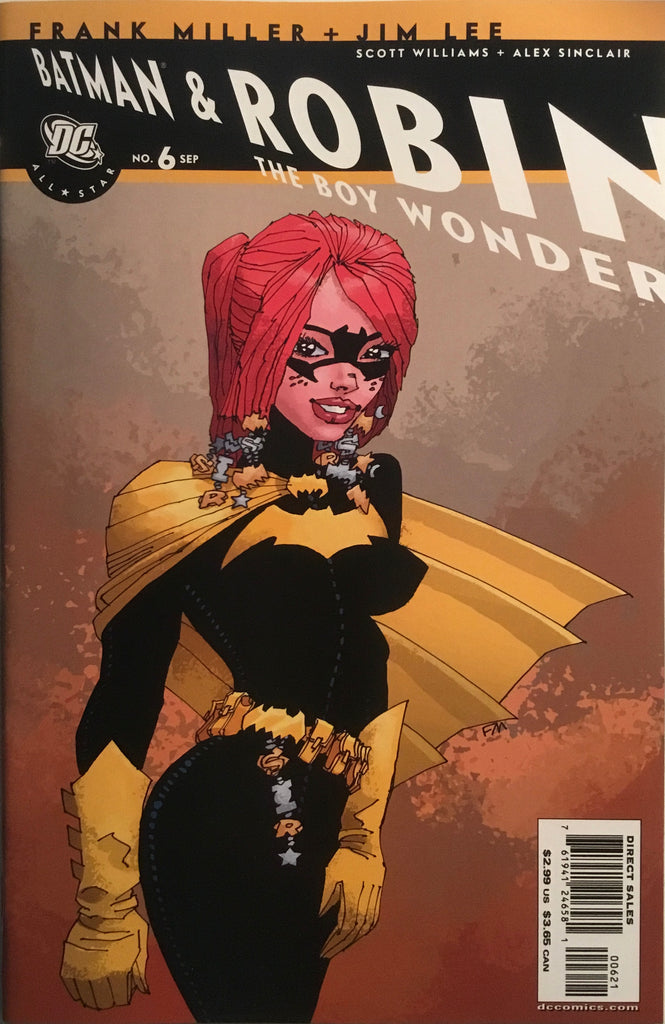 ALL STAR BATMAN AND ROBIN # 6 MILLER BATGIRL 1:10 VARIANT COVER