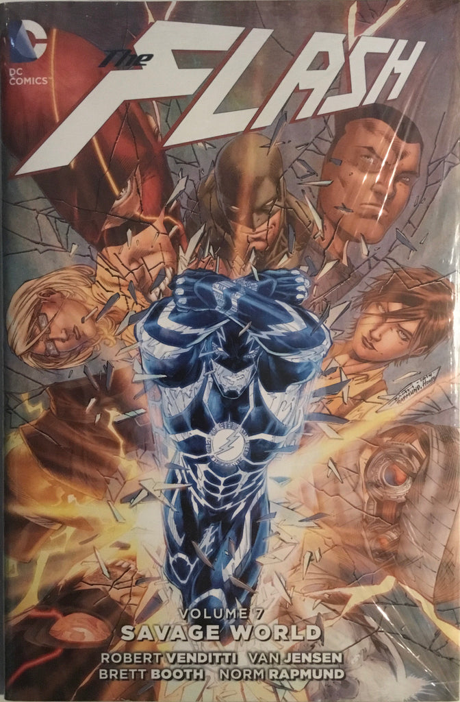 FLASH (NEW 52) VOL 7 SAVAGE WORLD HARDCOVER GRAPHIC NOVEL
