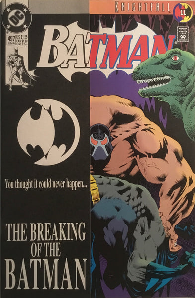 BATMAN # 497 KNIGHTFALL PART 11