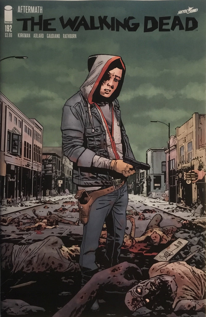 THE WALKING DEAD # 192 FIRST PRINTING DEATH OF RICK GRIMES