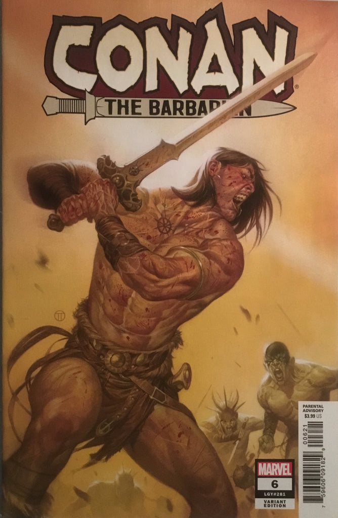 CONAN THE BARBARIAN (2019) # 6 TEDESCO 1:25 VARIANT COVER