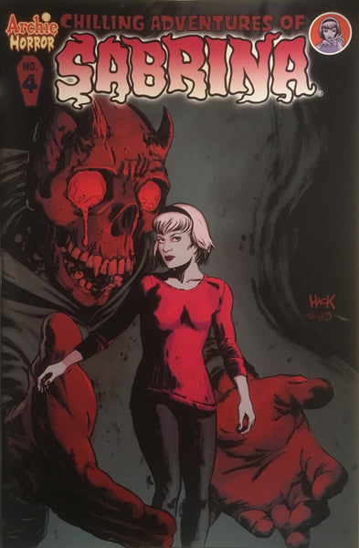 CHILLING ADVENTURES OF SABRINA # 4 (COVER A)